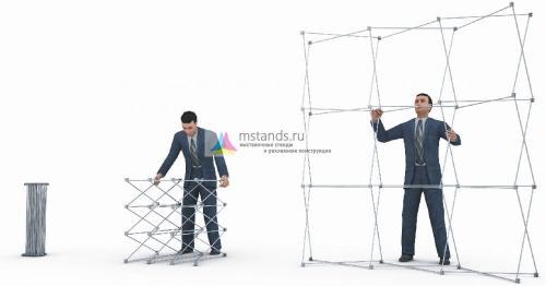 Pop up Медуза 2x3, 3x3, 4x3