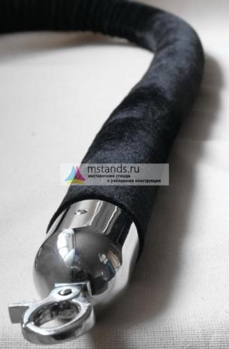 Канат бархатный СПБ D=40 мм длиной 2м